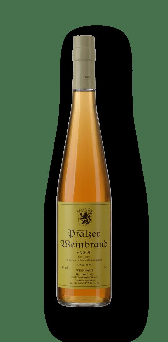 069a Weingut Lidy Pfälzer Weinbrand