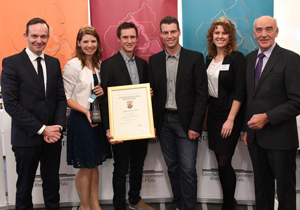 Siegerwein 2016 Kammerpreismünze