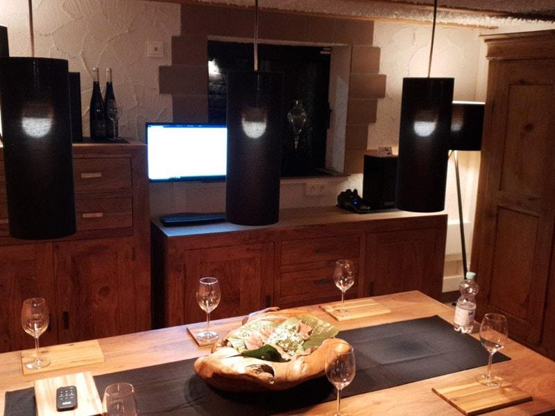 Weinhandel Ganster Weinverkostung, Weinprobe